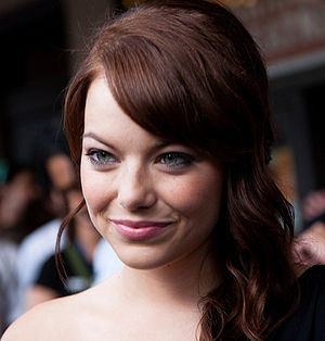 Emma Stone at the Zombieland world premiere at...