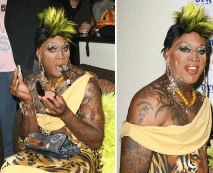 Proof of Extraterrestrial Life? Dennis Rodman and His 2011 Hall of Fame Spectacle. 2