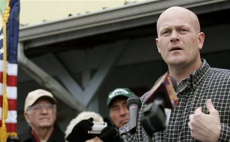 Photo of Joe the Plumber for Congress 2012