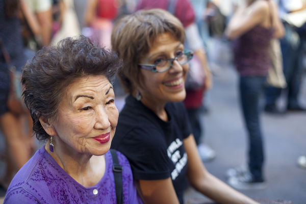 Occupy Wall Street Shows Struggles of America's Seniors 1