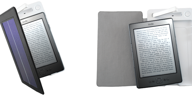 Photo of World's First Solar Powered Kindle Cover from Solarmio