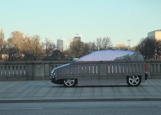 Photo of Zero-Emissions Mercedes Also Invisible To Human Eye