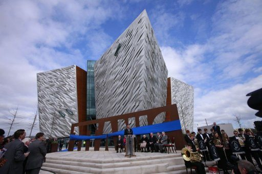 World's biggest Titanic attraction opens in Belfast 1
