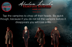 iOS Game: Abraham Lincoln: Vampire Hunter 1