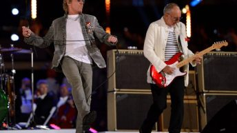 If You Missed It - The Who Performing at the London 2012 Closing Ceremony 4