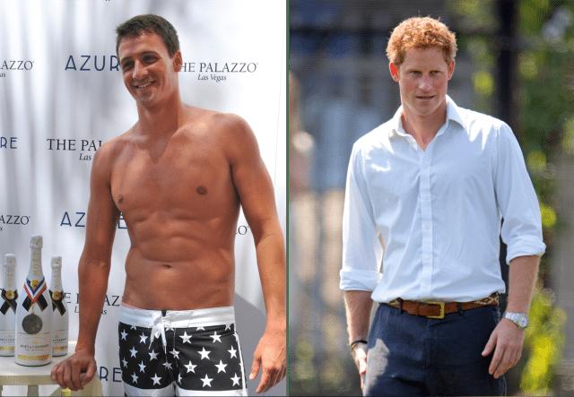 Photo of Prince Harry Challenges Ryan Lochte to Swim Race