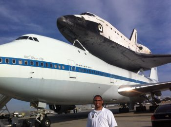 Exclusive Coverage - Space Shuttle Endeavor at LAX 1