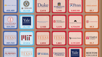 Photo of The Most Social Colleges [Infographic]