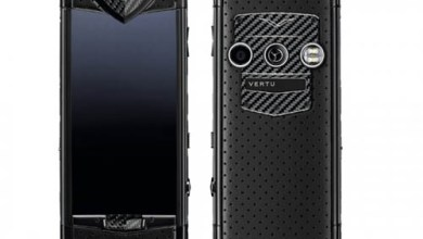 Photo of Constellation Black Neon Luxury Mobile Phone by Vertu
