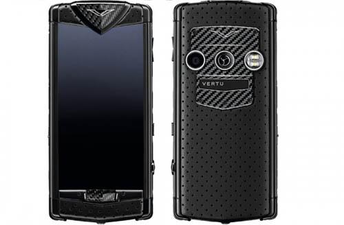 Photo of Constellation Black Neon Luxury Mobile Phone by Vertu