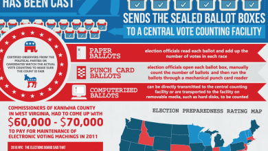 Photo of The Logistics of Voting [Infographic]