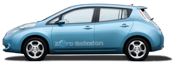 Nissan Leaf at CES 2011 1