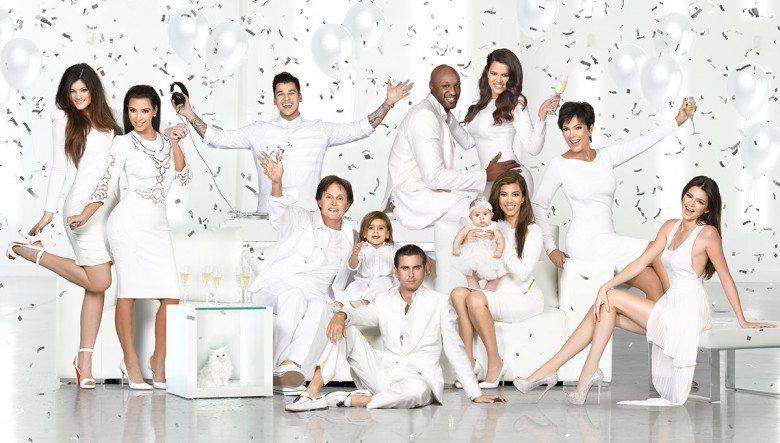 Photo of Kardashian Christmas Card