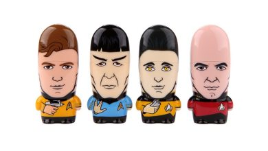 Photo of Hands On: Mimobot® Star Trek™ flash drive