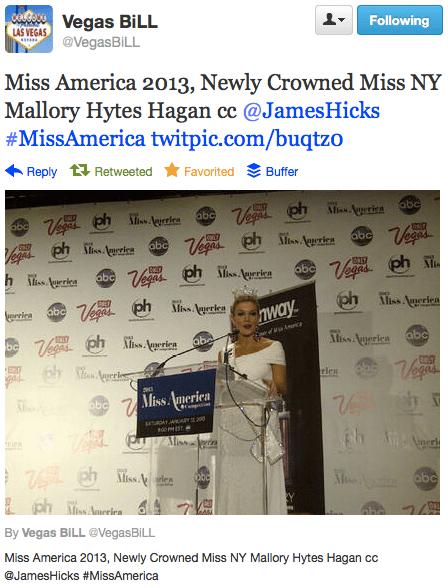 Miss America 2013 - Mallory Hytes Hagan 1