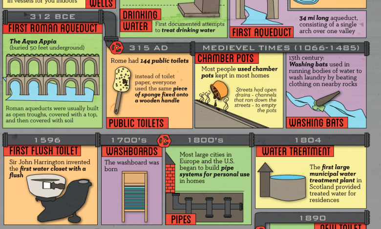 Photo of Can't Flush this History [Infographic]