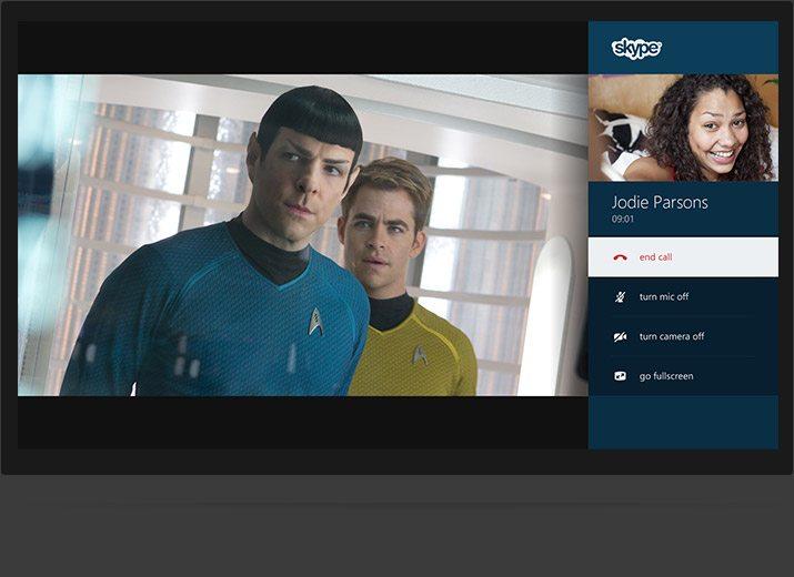 Skype on Xbox One