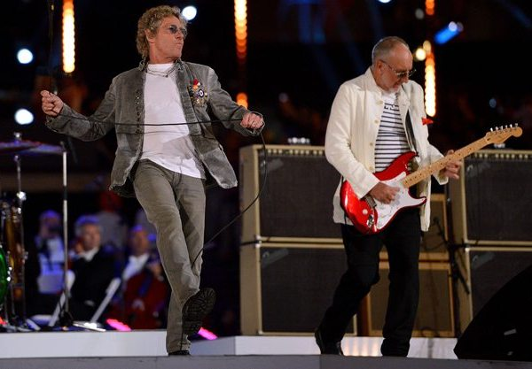 If You Missed It - The Who Performing at the London 2012 Closing Ceremony 1