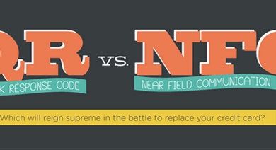 Photo of QR vs. NFC [Infographic]