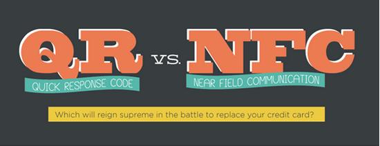 QR vs. NFC [Infographic] 1