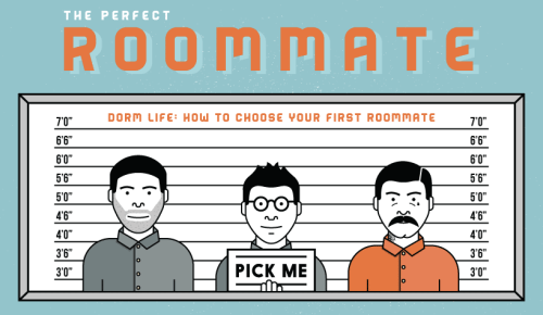 Finding the Perfect Roommate [Infographic] 1