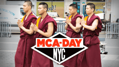 Photo of Breakdancing Monks on MCA Day