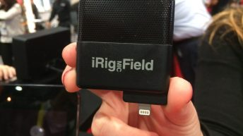 iRig Mic Field at CES 2015 3