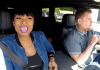 Jennifer Hudson and James Corden
