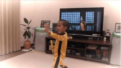 Photo of This Youngster Would Make Bruce Lee VERY Proud!