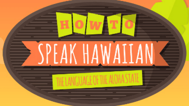 Photo of You Can Learn To Speak Hawaiian! [Infographic]