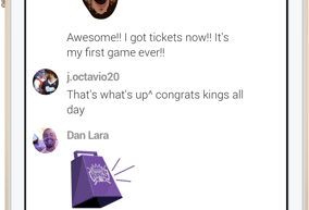 Sacramento Kings and Frankly Inc. to Provide Chat Features to Team's Website and Mobile App 4