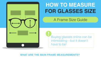 Measuring To Buy Glasses Online Doesn't Have To Be Scary [Infographic] 1