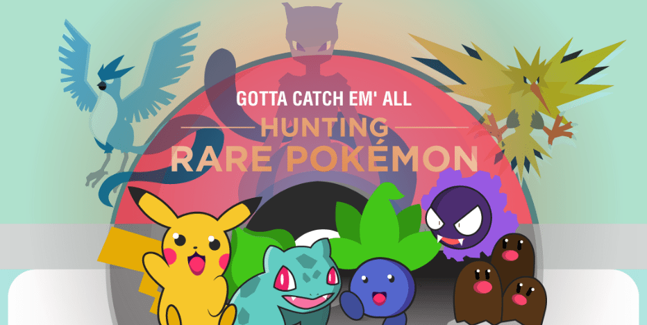 On The Hunt: Where Are The Rare Pokemon Hiding? 1