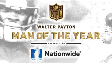 Photo of Nominees for the Walter Payton NFL Man of the Year Award