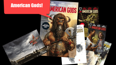 Photo of American Gods everywhere