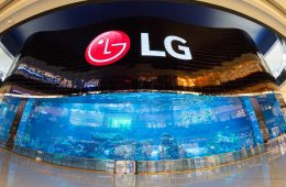 LG Electronics Business Solutions OLED Screen