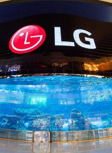 LG Electronics Business Solutions OLED Screen