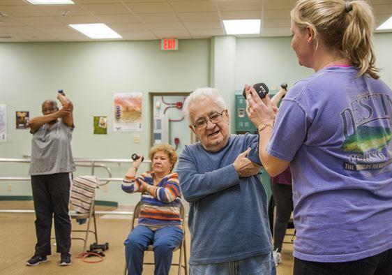 senior citizen fitness