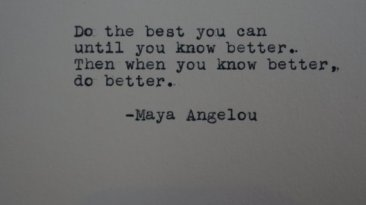 The Words Of Maya Angelou 2