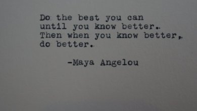 Photo of The Words Of Maya Angelou