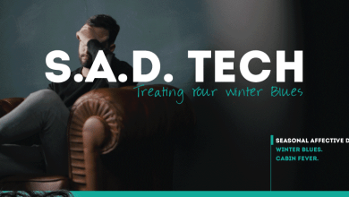 Photo of Tech To Treat SAD And The Winter Blues