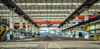 empty manufacturing building