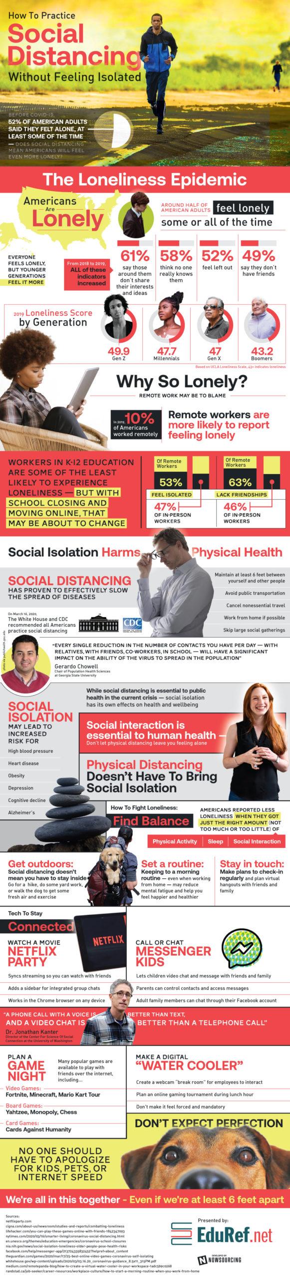 Social Distancing - Not Social Isolation 2