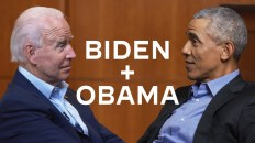 A Socially Distanced Conversation: President Barack Obama and Vice President Joe Biden 3