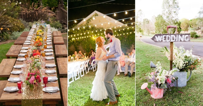 The Benefits of Planning a Modest Wedding Reception 1