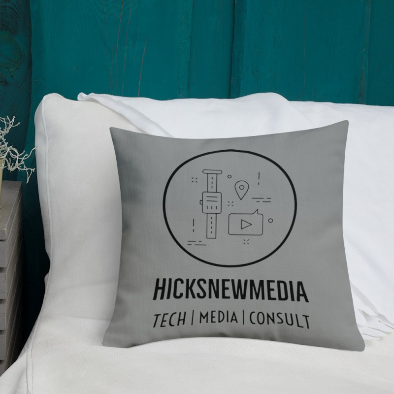 HNM Logo Premium Pillow (18x18) 4
