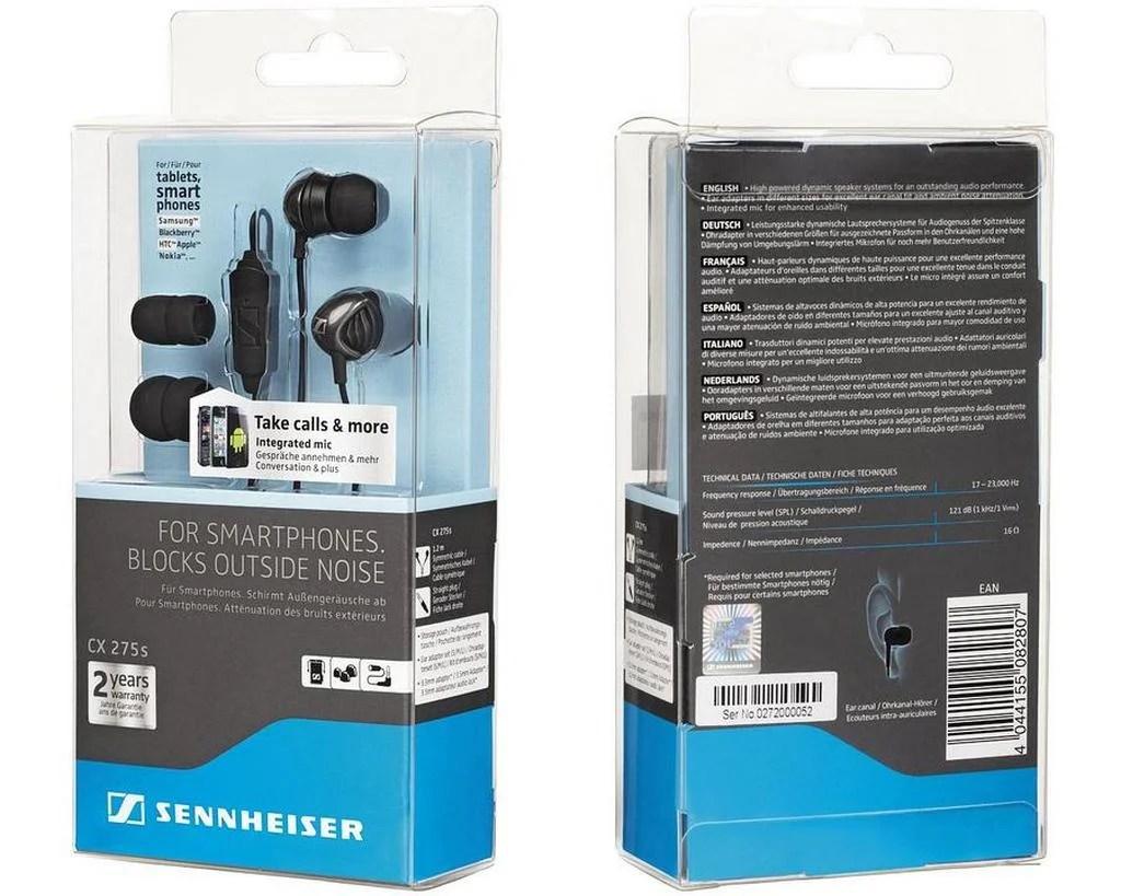 Sennheiser CX 275s Review