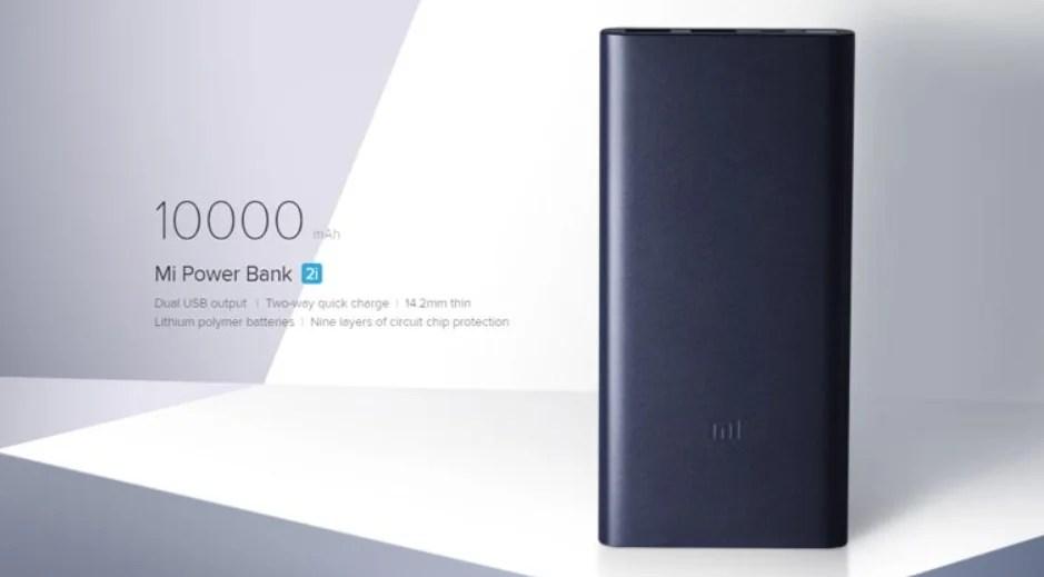Xiaomi Mi 2i 10000mAH Powerbank
