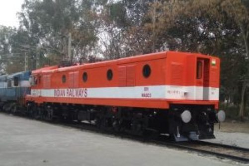 World's first diesel to electric locomotive engine