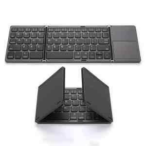 Foldable Wireless keyboard very cook gadget for students